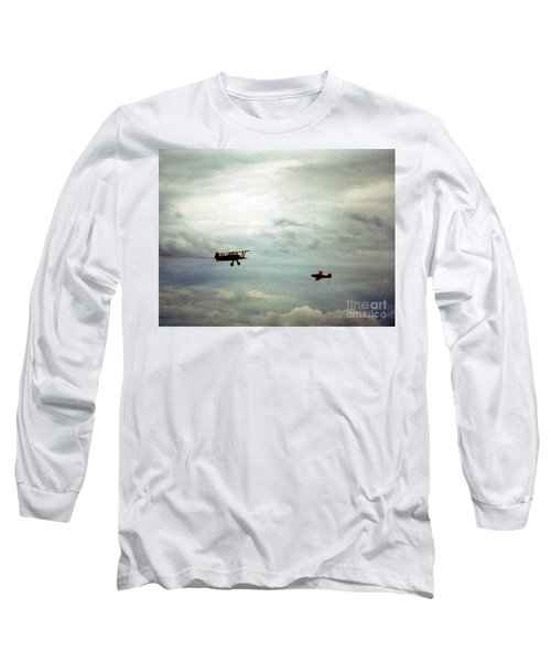 Vintage Airplanes Long Sleeve T-Shirt