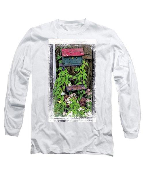 Vintage Bird House Long Sleeve T-Shirt
