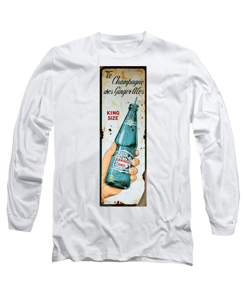 Vintage Canada Dry Sign Long Sleeve T-Shirt