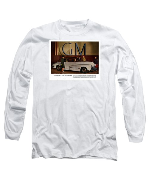 Vintage Car Ads Long Sleeve T-Shirt by Allen Beilschmidt