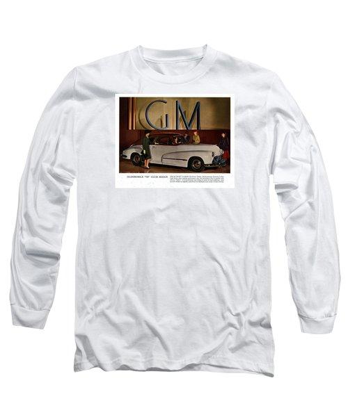 Vintage Car Ads Long Sleeve T-Shirt