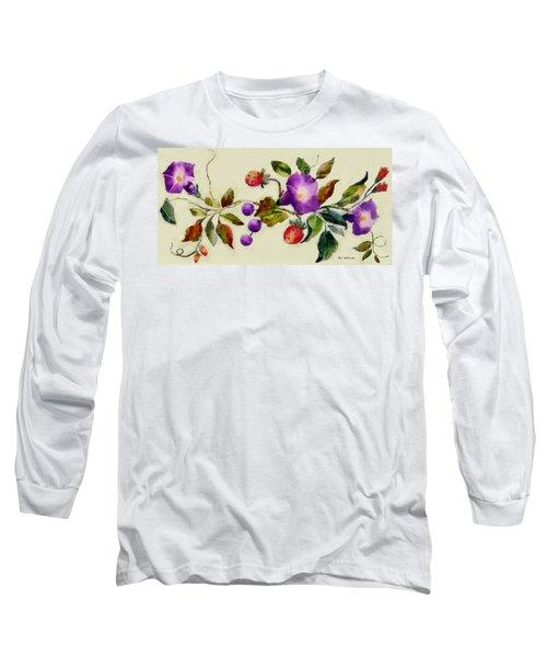 Vintage Charm Long Sleeve T-Shirt
