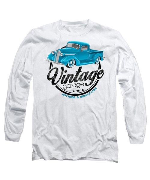 Vintage Garage Plymouth Long Sleeve T-Shirt