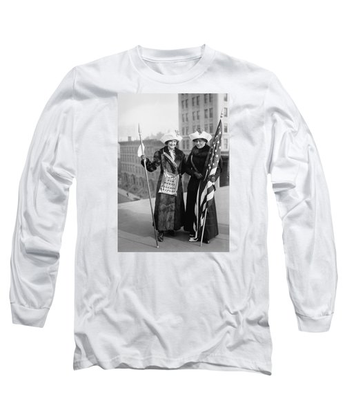 Vintage Photo Suffragettes Long Sleeve T-Shirt