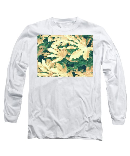 Long Sleeve T-Shirt featuring the photograph Vintage Season Gold by Rebecca Harman
