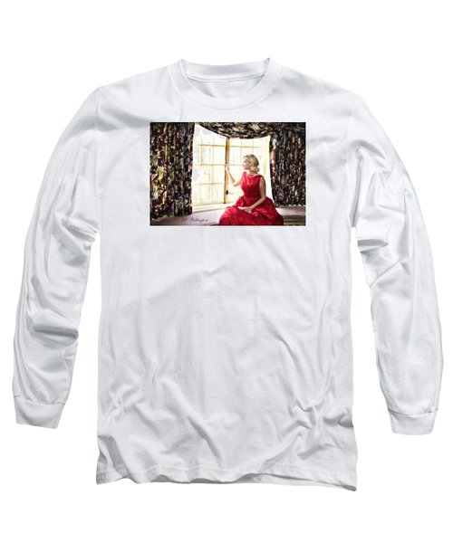 Vintage Val Home For The Holidays Long Sleeve T-Shirt