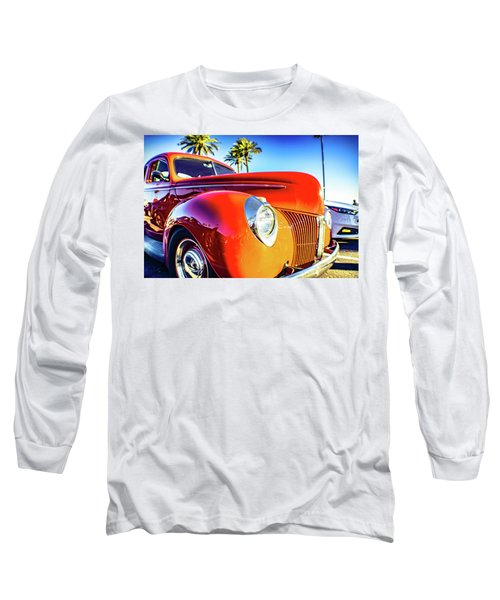 Vintage Vibrance Long Sleeve T-Shirt by Mark David Gerson