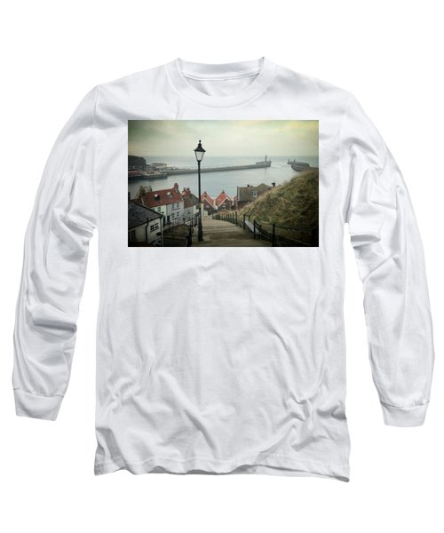 Vintage Whitby Long Sleeve T-Shirt