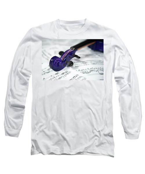 Violin Tuning Pegs  Long Sleeve T-Shirt