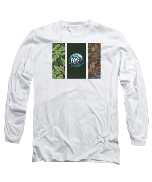 Viriditas Triptych Long Sleeve T-Shirt