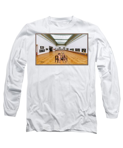 Virtual Exhibition - 32 Long Sleeve T-Shirt by Pemaro