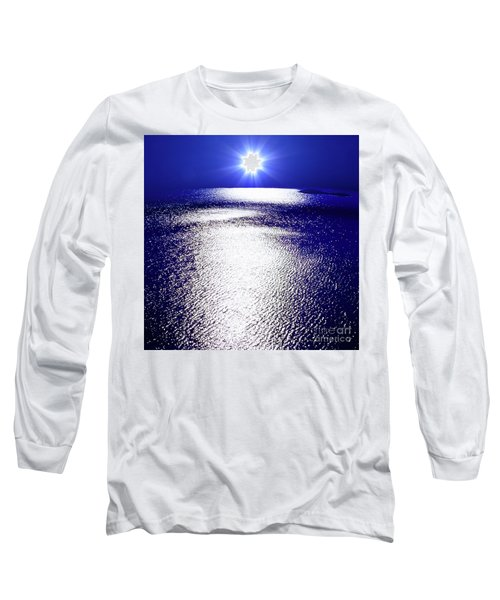 Virtual Sea Long Sleeve T-Shirt