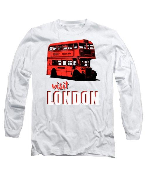 Visit London Tee Long Sleeve T-Shirt by Edward Fielding