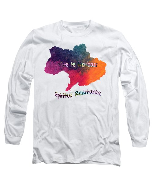 Vive Le Donbass Long Sleeve T-Shirt by Elaine Ossipov