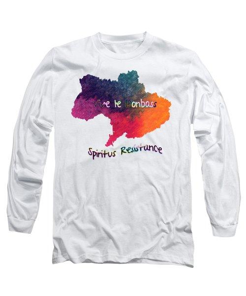 Vive Le Donbass Long Sleeve T-Shirt
