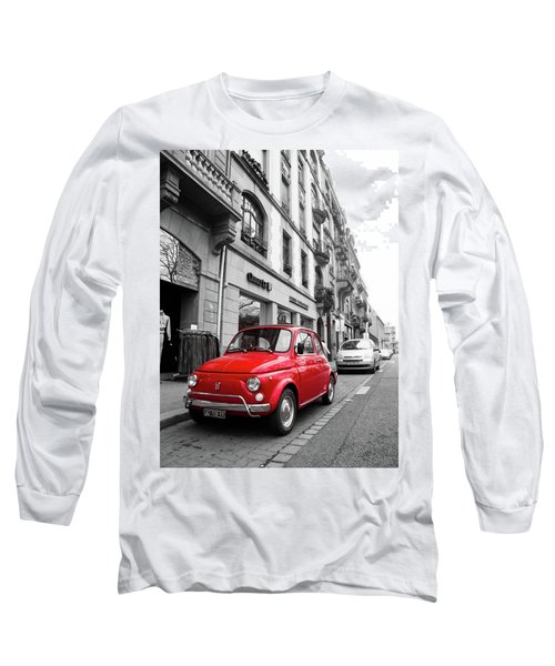Voiture Rouge Long Sleeve T-Shirt