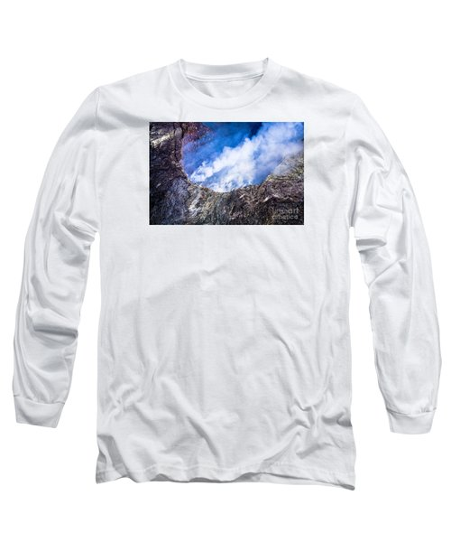 Long Sleeve T-Shirt featuring the photograph Volcano by M G Whittingham