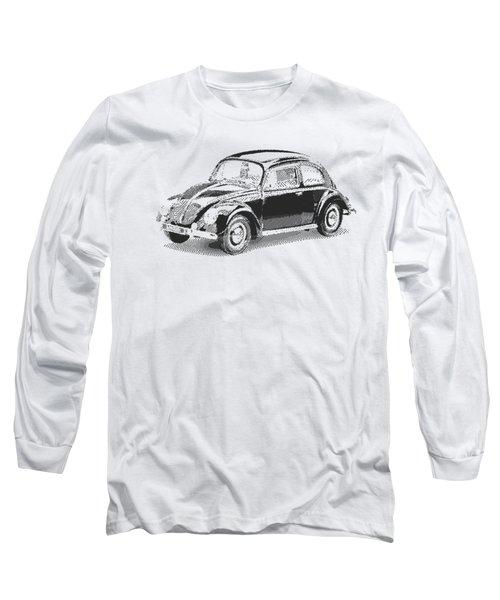 Volkswagen 1949 - Parallel Hatching Long Sleeve T-Shirt