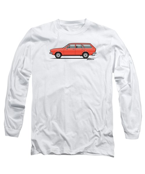 Volkswagen Dasher Wagon / Vw Passat B1 Variant Long Sleeve T-Shirt