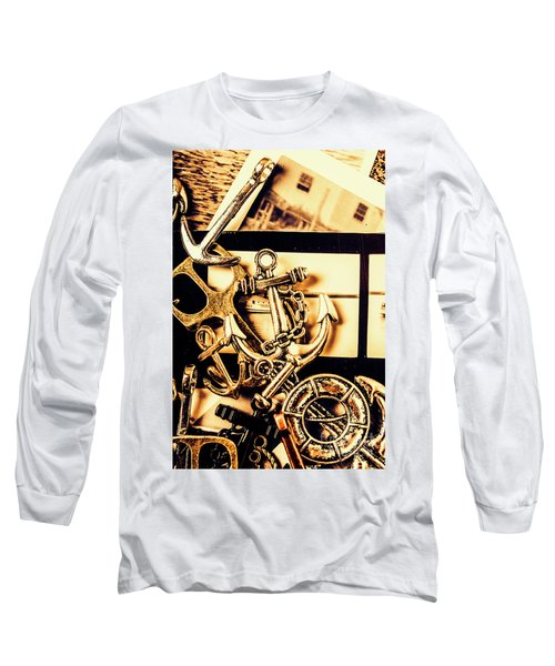 Voyage In Historical Boating Long Sleeve T-Shirt