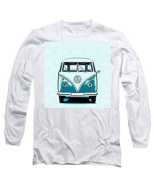 Vw Van Graphic Artwork Long Sleeve T-Shirt