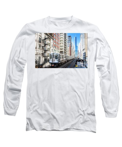 The Wabash L Train Long Sleeve T-Shirt