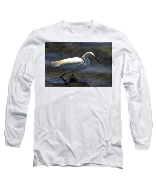 Wading And Watching Long Sleeve T-Shirt