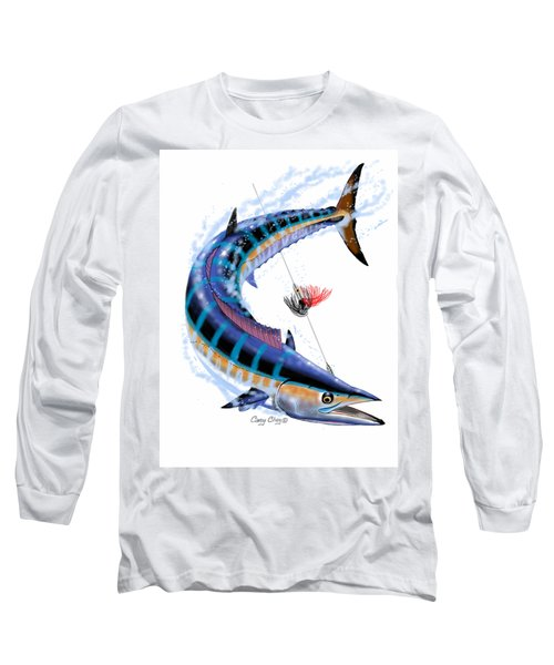 Wahoo Digital Long Sleeve T-Shirt by Carey Chen