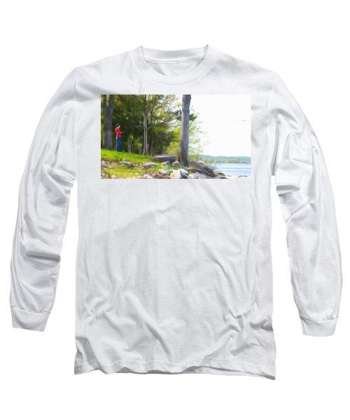Waiting Ashore Long Sleeve T-Shirt