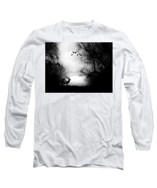 Waking From Winters Sleep Long Sleeve T-Shirt by Michele Carter