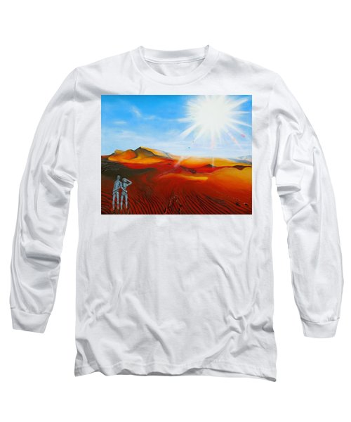 Walk A Mile Long Sleeve T-Shirt