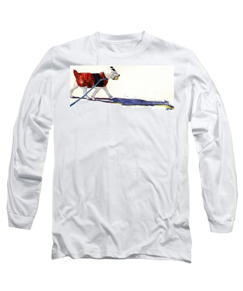 Walk In The Park Long Sleeve T-Shirt by Molly Poole