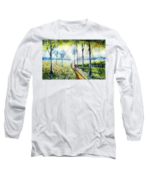 Walk Into The World Long Sleeve T-Shirt