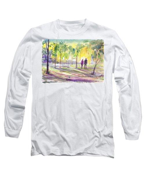Walk Through The Woods Long Sleeve T-Shirt