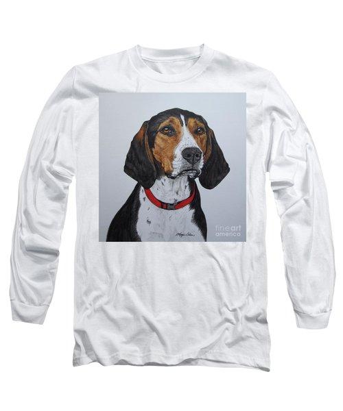 Walker Coonhound - Cooper Long Sleeve T-Shirt by Megan Cohen