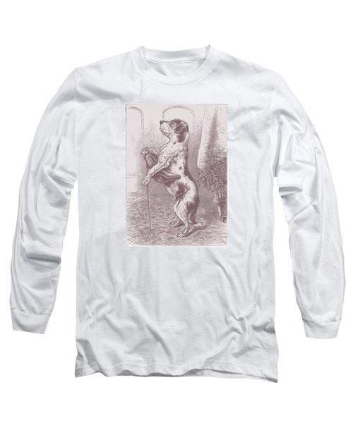 Walkies? Long Sleeve T-Shirt by David Davies