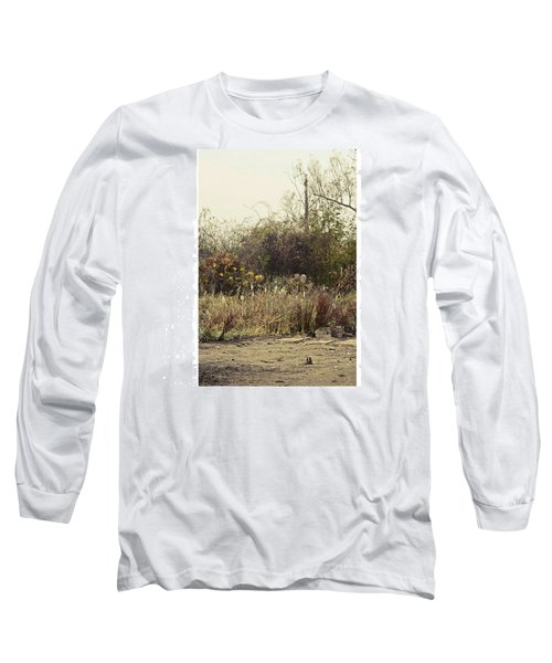 Walking By The Lake  #landscape #lake Long Sleeve T-Shirt
