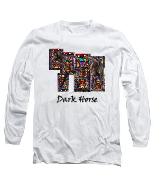 Walking Horse 2 Dark Horse Long Sleeve T-Shirt