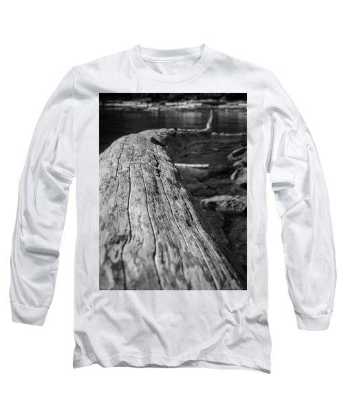 Walking On A Log Long Sleeve T-Shirt