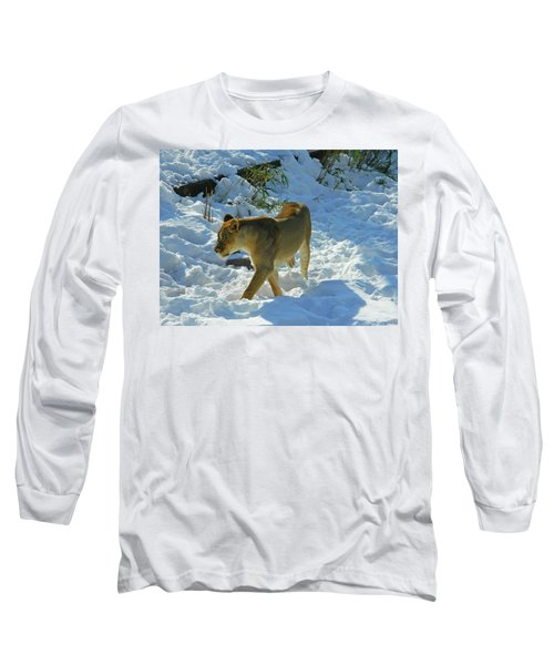 Walking On The Wild Side Long Sleeve T-Shirt by Emmy Marie Vickers