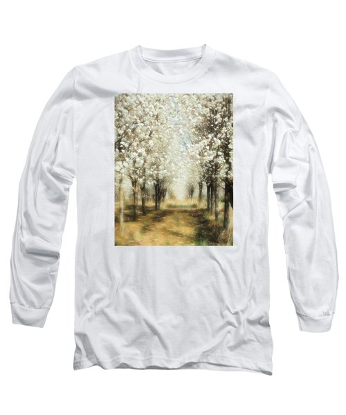 Walking Through A Dream Ap Long Sleeve T-Shirt by Dan Carmichael