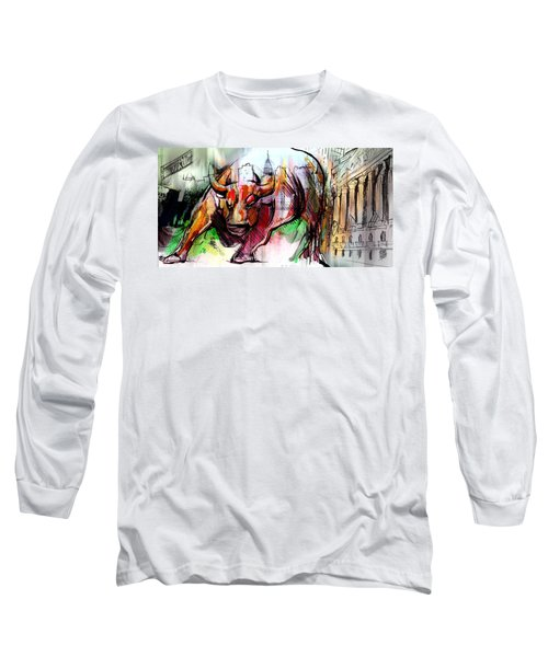 Wall Street New Money Long Sleeve T-Shirt