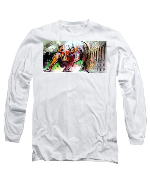 Wall Street New Money Long Sleeve T-Shirt