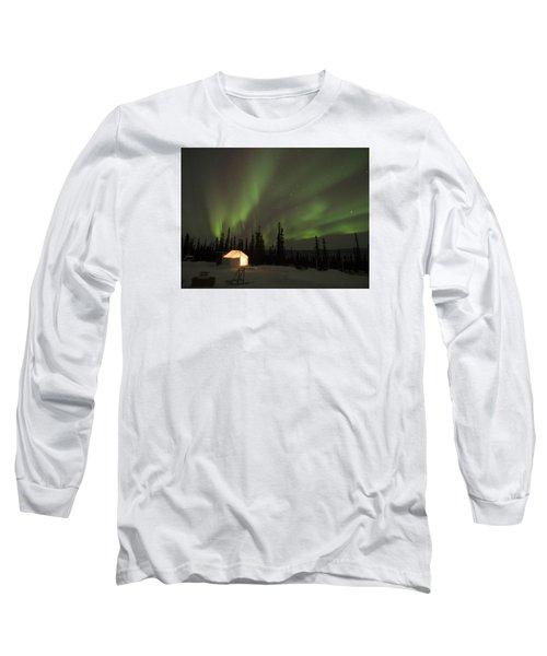 Wall Tents And Aurora Long Sleeve T-Shirt