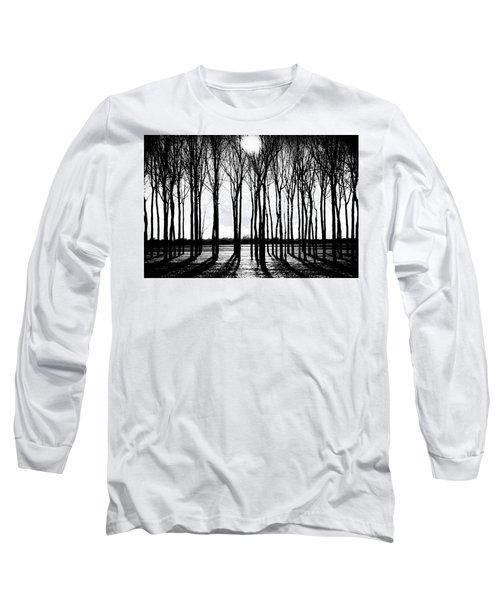 Walnut Grove Fall Evening Long Sleeve T-Shirt