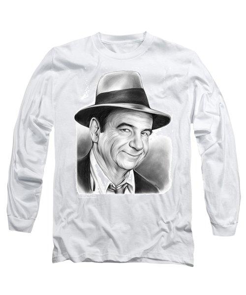 Walter Matthau Long Sleeve T-Shirt by Greg Joens