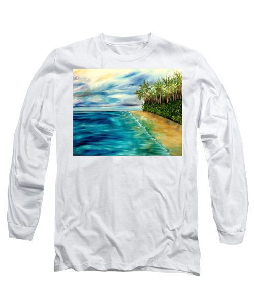 Wandering Through Turquoise Days Long Sleeve T-Shirt