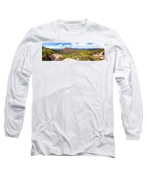 Long Sleeve T-Shirt featuring the photograph Wangara Hill Flinders Ranges South Australia by Bill Robinson