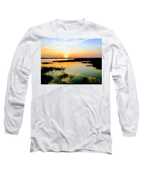 Warm Wet Wild Long Sleeve T-Shirt