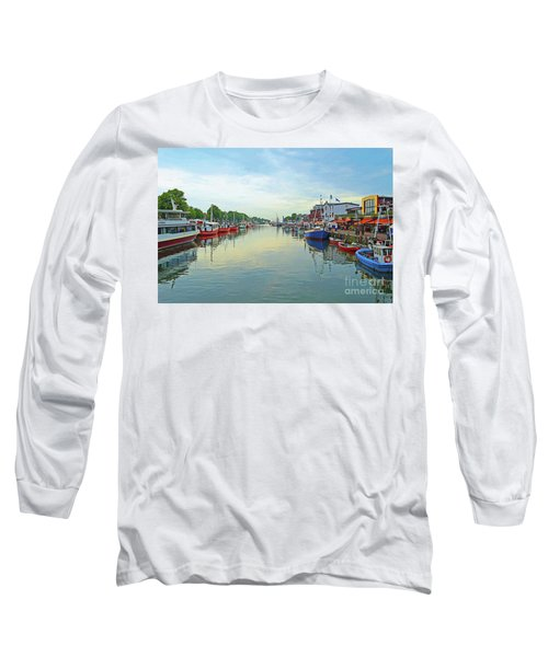 Warnemunde Germany Port Long Sleeve T-Shirt